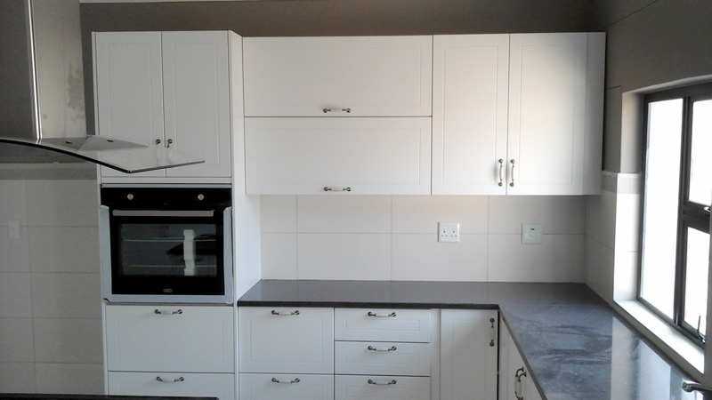 Customised, fitted kitchen